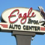 eagle bros auto center sign