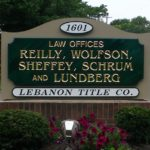 reilly wolfson law offices sign