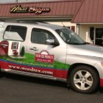 wood tex products hhr vehicle graphics