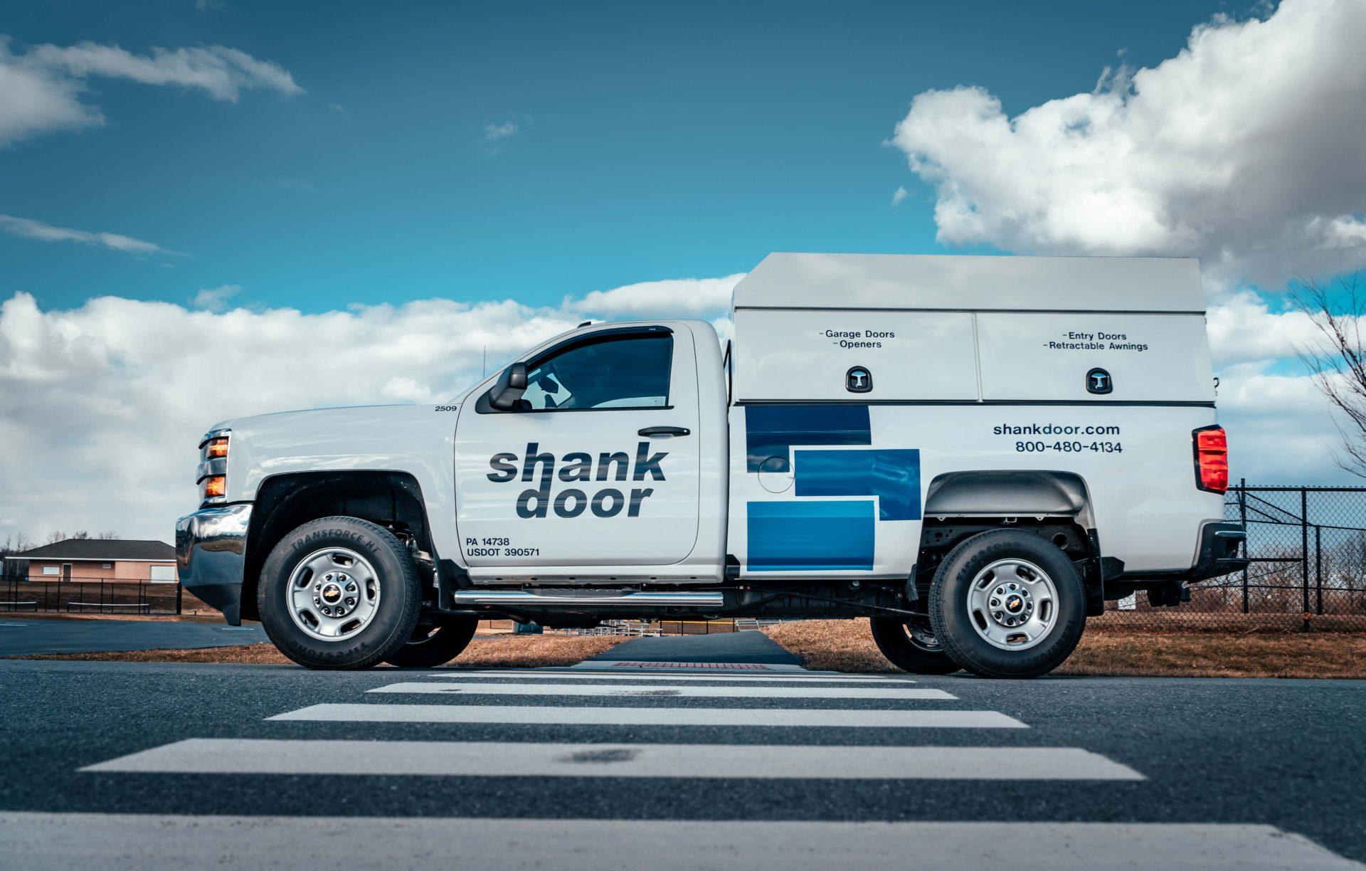 Shank Door Chevy Pickup Lettering-2.JPG & Custom Vinyl Lettering Truck Lettering   Horst Signs PA ...