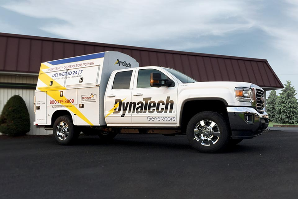 Truck Lettering Vehicle Graphics
