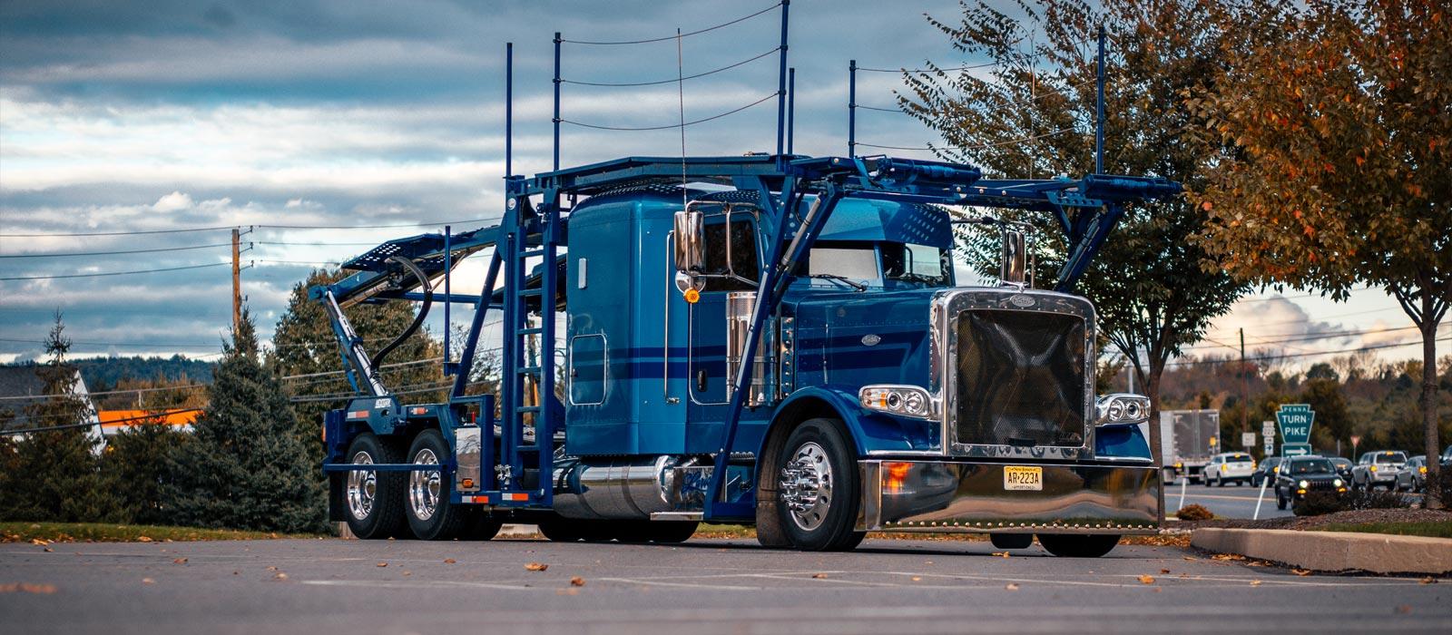 Horst Signs in PA Truck Lettering for Larick Transport Peterbilt Truck Graphics Rockaway NJ