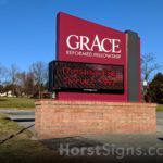 Grace Reformed Church Sign